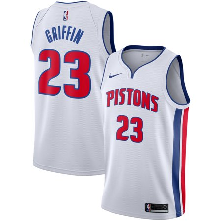 Blake Griffin Detroit Pistons Nike Replica Swingman Jersey - Association Edition -