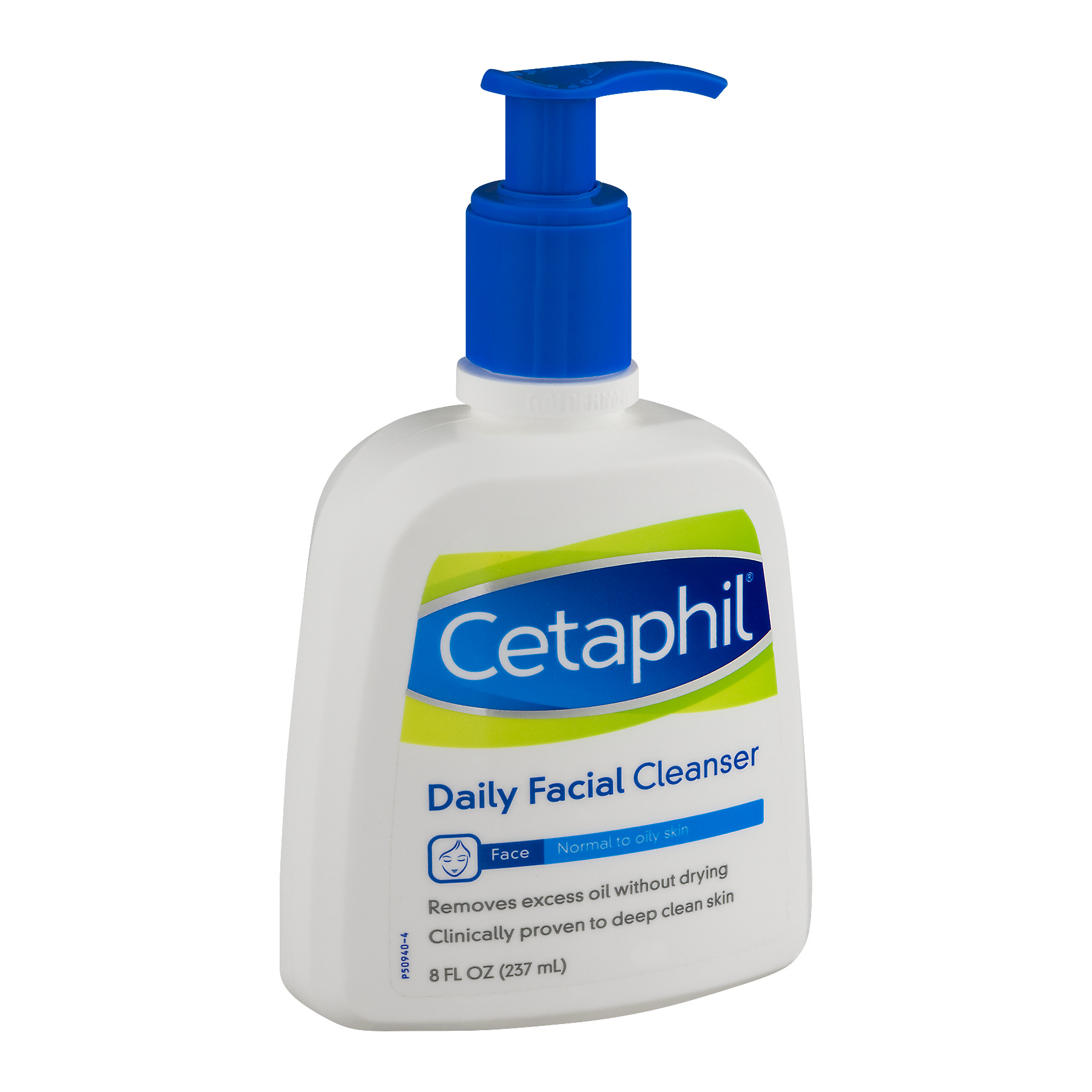 Cetaphil Daily Facial Cleanser for Normal/Oily Skin 8 oz (Pack of 2) Filfeel Electric Blackhead Remover Facial Skin Pore Cleaner Acne Nose Blackhead Suction Remover with 4 Replaceable Suction Heads Comedo Suction Diamond Dermabrasion White