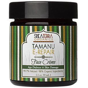 Shea Terra Organics - Tamanu-E Regeneration Face Creme, 2 oz cream