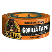Gorilla Glue Black Gorilla Tape, 12 yd, 1 ea (Pack of 4)