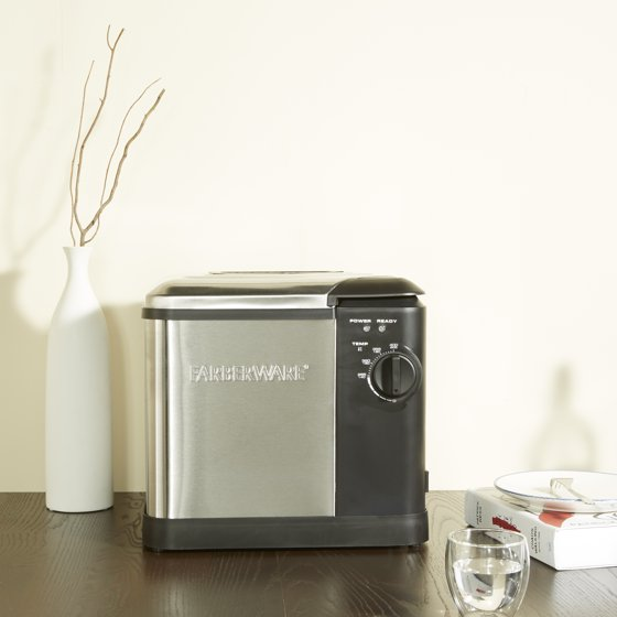 Farberware Extra Large Capacity Deep Fryer- Cooks Up to 14