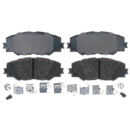 AC Delco 17D1211CH Brake Pad Set, Ceramic OE Replacement
