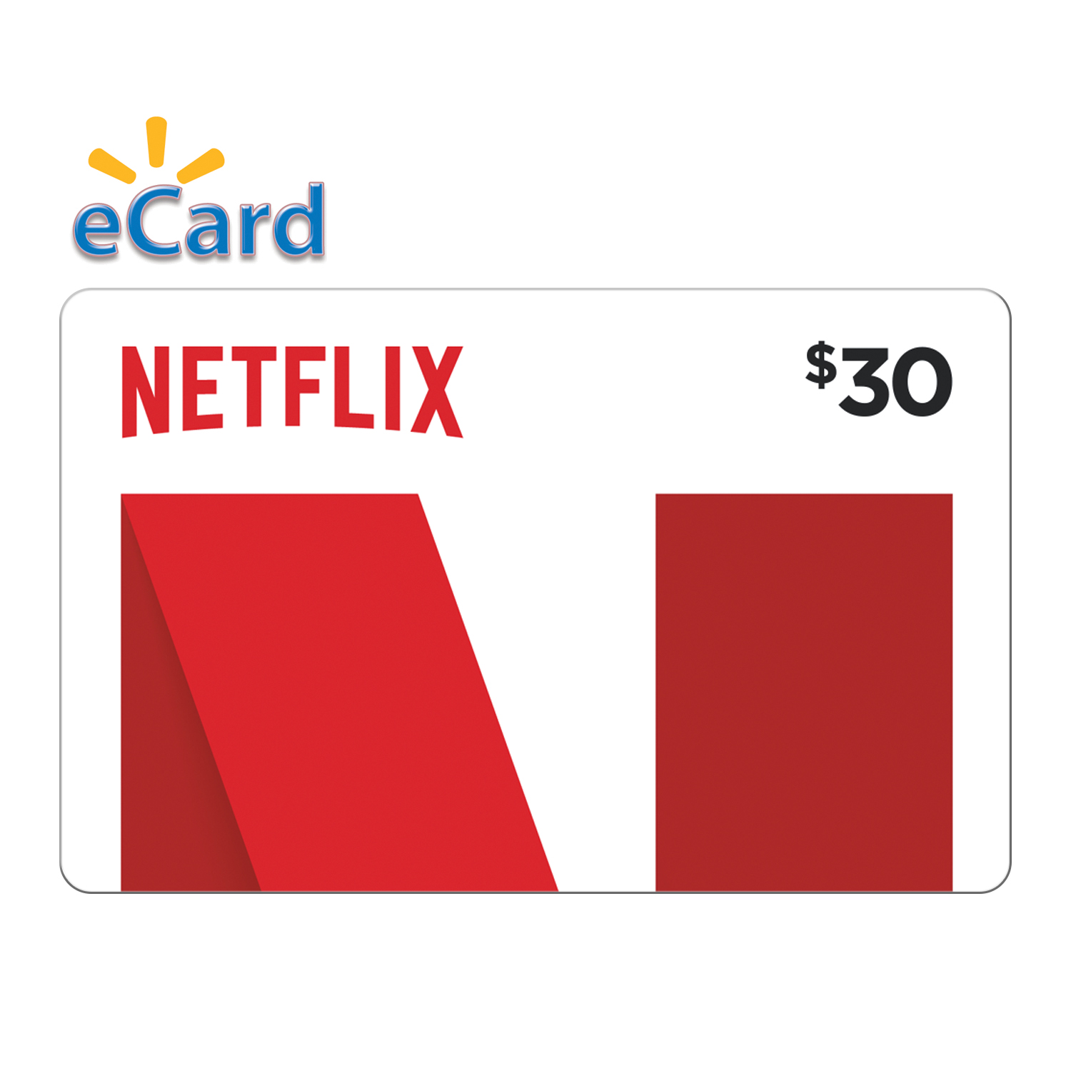 Netflix 30 Gift Card Email Delivery Walmart