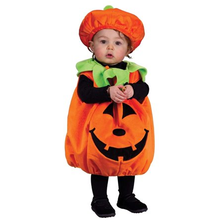 Innova Imports Halloween Pumpkin Orange Polyester Costume for Kids - Halloween Costumes For Kids Pumpkin