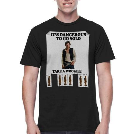Star Wars Men's Take A Wookie Graphics T-shirt