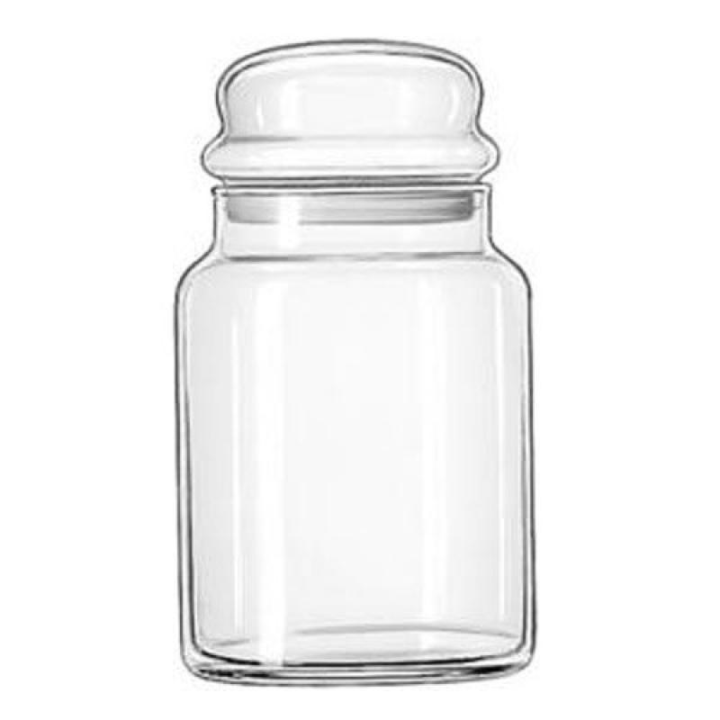 Libbey 32 oz Storage Jar (08-0848) Category: Glass Storage Jars by