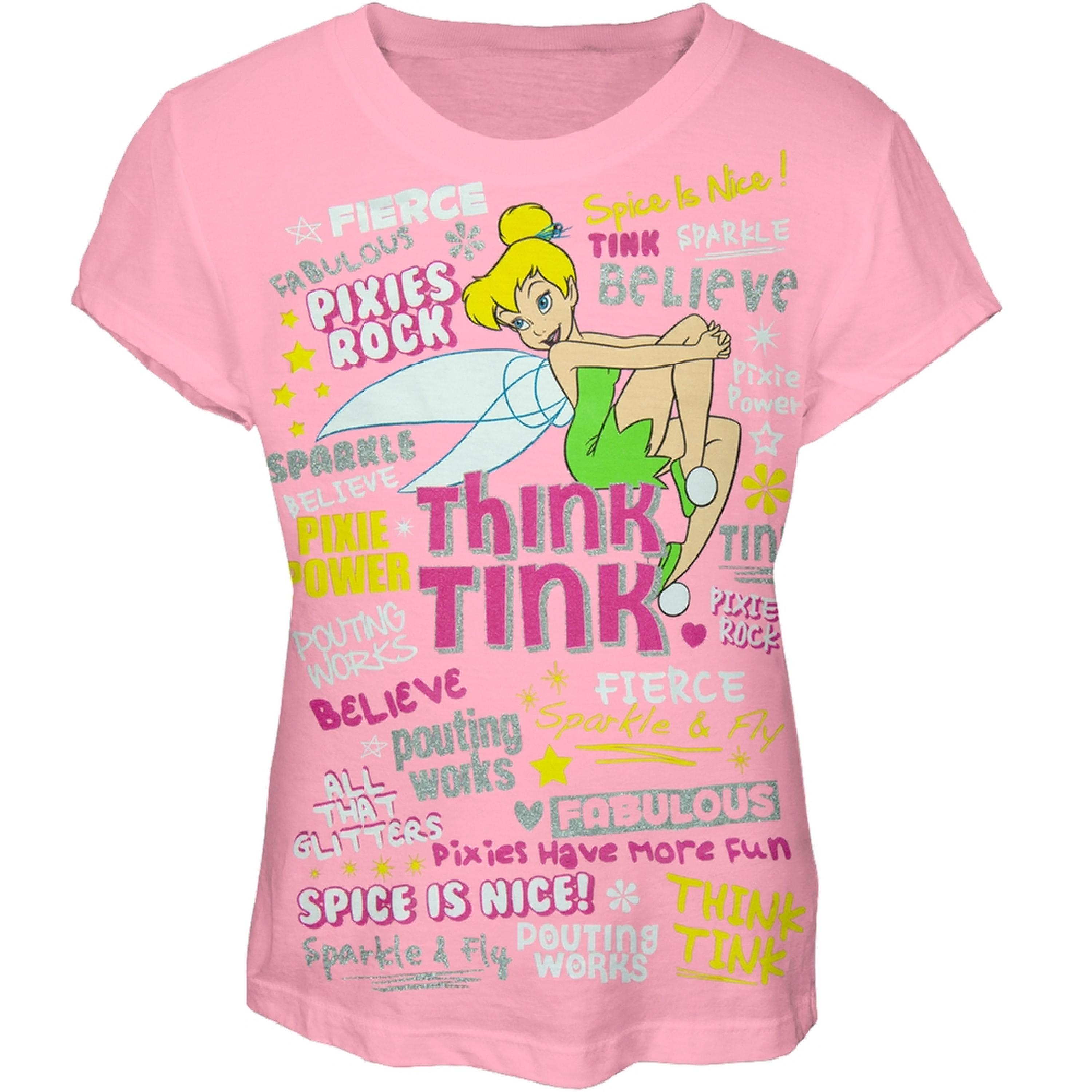 Tinkerbell - Think Tink Girls Youth T-Shirt
