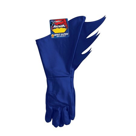 Brave and the Bold Adult Batman Gauntlets Halloween Costume Accessory - Merida Brave Costume For Adults