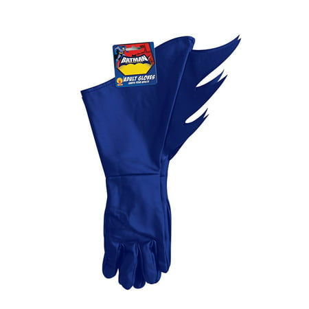 Brave and the Bold Adult Batman Gauntlets Halloween Costume - Batman Gauntlets