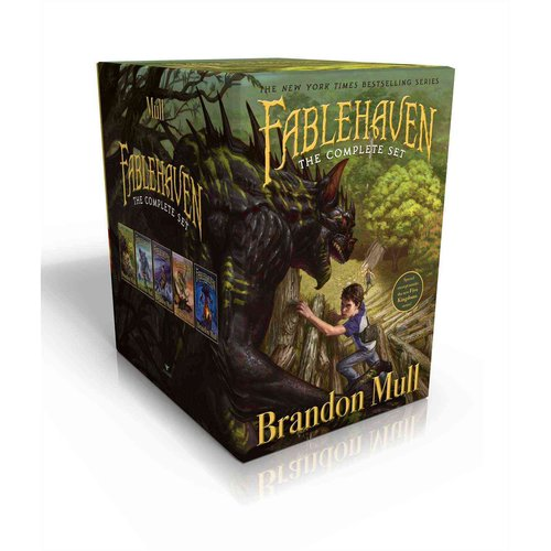 Fablehaven Keys to the Demon Prison by Brandon Mull (2010, Hardcover) SIGNED