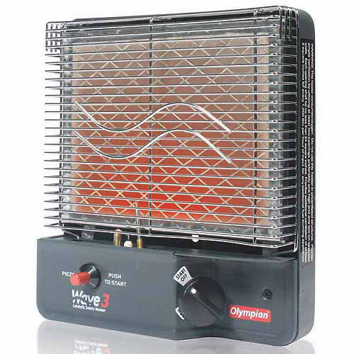 Camco Olympian RV Wave-3 LP Gas Catalytic Safety Heater