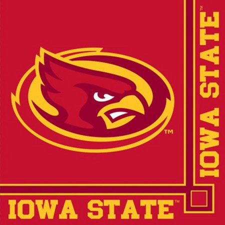 Iowa State Beverage (Pack of 240 NCAA Iowa State Cyclones 2-Ply Tailgating Party Beverage)