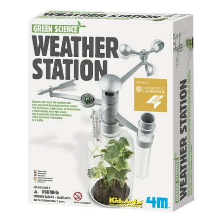 4M Green Science Weather Station Kit](Green Science Kits)