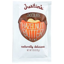 Peanut & Nut Butters: Justin's Hazelnut Butter Squeeze Packs