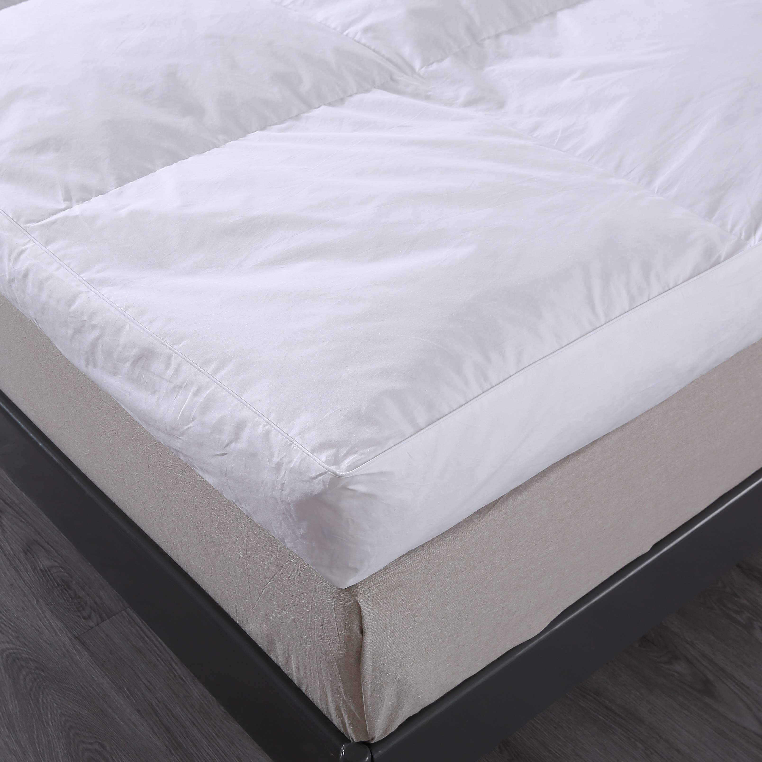 St. James Home 233TC Cotton Nano Feather Bed, King Size