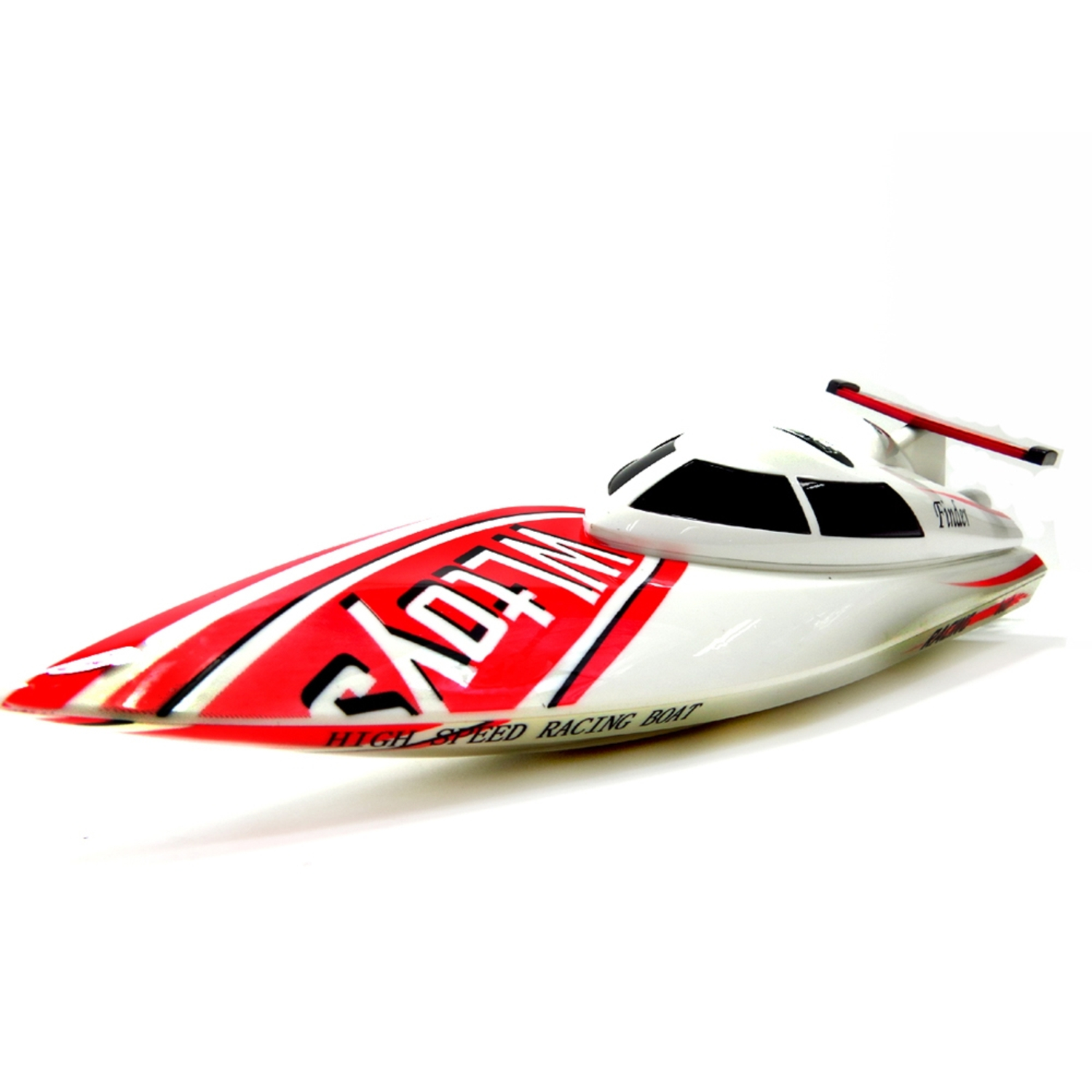 2.4GHZ Freedom High Speed Racing Boat Radio Control Ship Watercraft White (Gift Idea) by