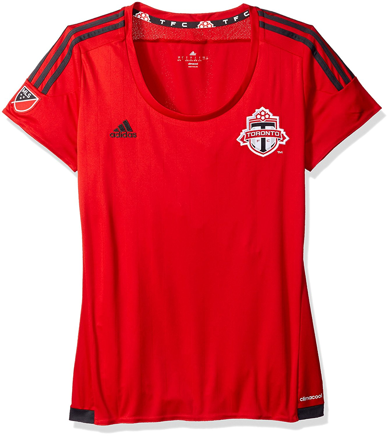 MLS Toronto FC Women's Replica Short Sleeve Jersey, Large, Red