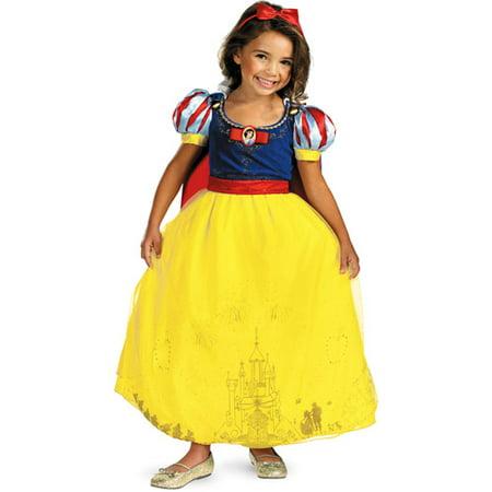 Snow White Child Prestige Halloween Costume](Snow White Coustume)
