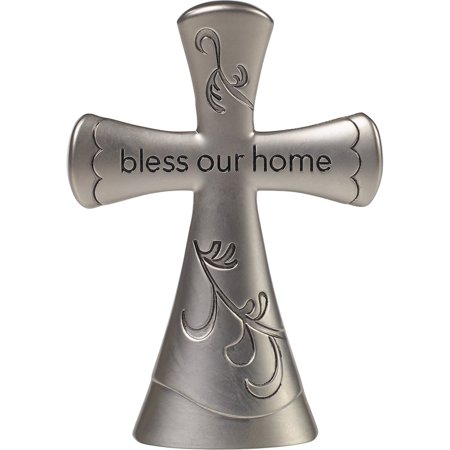 Precious Moments Bless This Home Tabletop Cross Zinc Alloy 172472