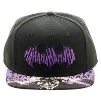 baseball cap - batman - joker sublimated bill snapback new licensed sb3wdsbtm