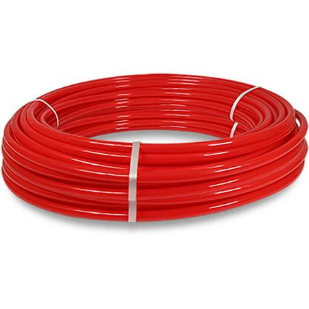 Pexflow PFW-R34300 Pex Tubing, Potable Water Red, 3/4