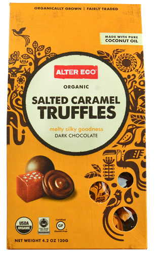 Alter Eco Truffles Dark Chocolate Salted Caramel -- 4.2 oz pack of 2 by Alter Eco