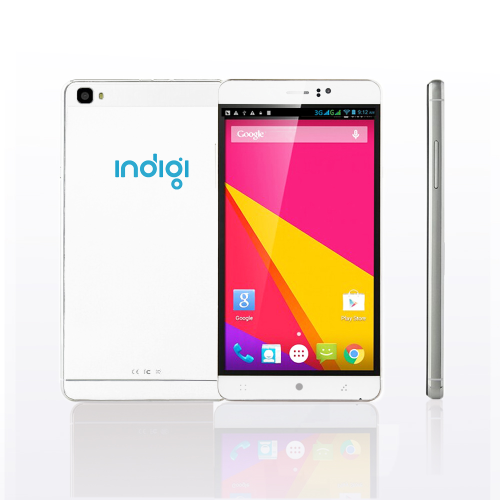 "Indigi® 6.0"" Factory Unlocked 3G Smartphone Android 5.1 SmartPhone WiFi Bluetooth Google Play Store (GSM Unlocked)"