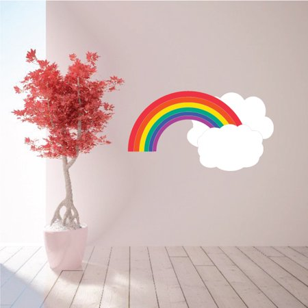 Rainbow Weather Quote Wall Decal Vinyl Decal Car Decal Vd007 36 Inches