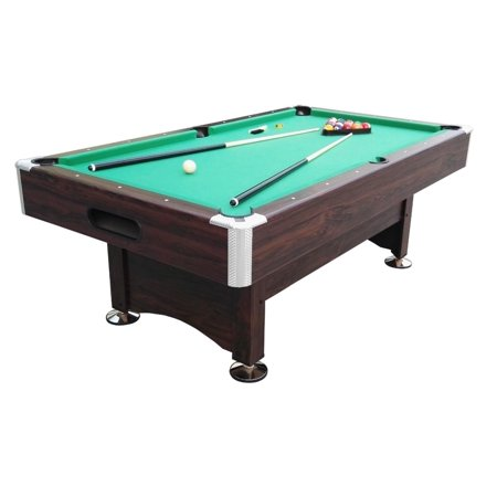 6 39 x 3 3 39 brown and green billiard and pool game table