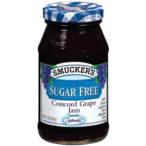 Smucker's: Concord Grape Sugar Free Jam, 12.75 Oz