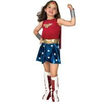 Girl's Deluxe Wonder Woman Halloween Costume