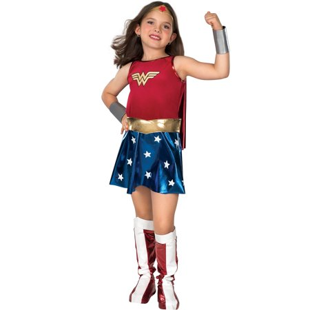 Cute Costumes For Womens (Girl's Deluxe Wonder Woman Halloween)