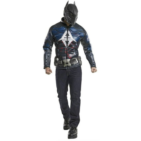 Batman Arkham Knight Muscle Chest Men's Adult Halloween Costume (Arkham City Costumes Halloween)