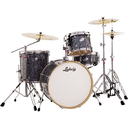 Ludwig Fab 4 Accent Series 4-Piece Drum Set with Hardware