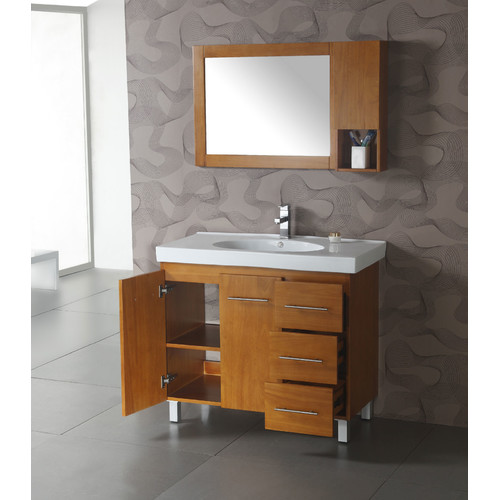 Legion Furniture 5'' W x 24'' H Wall Mounted Cabinet