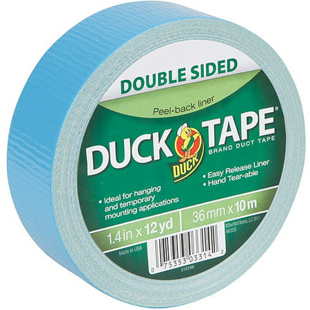 Duck Brand Duct Tape, Double Sided Duck Tape, 1.41