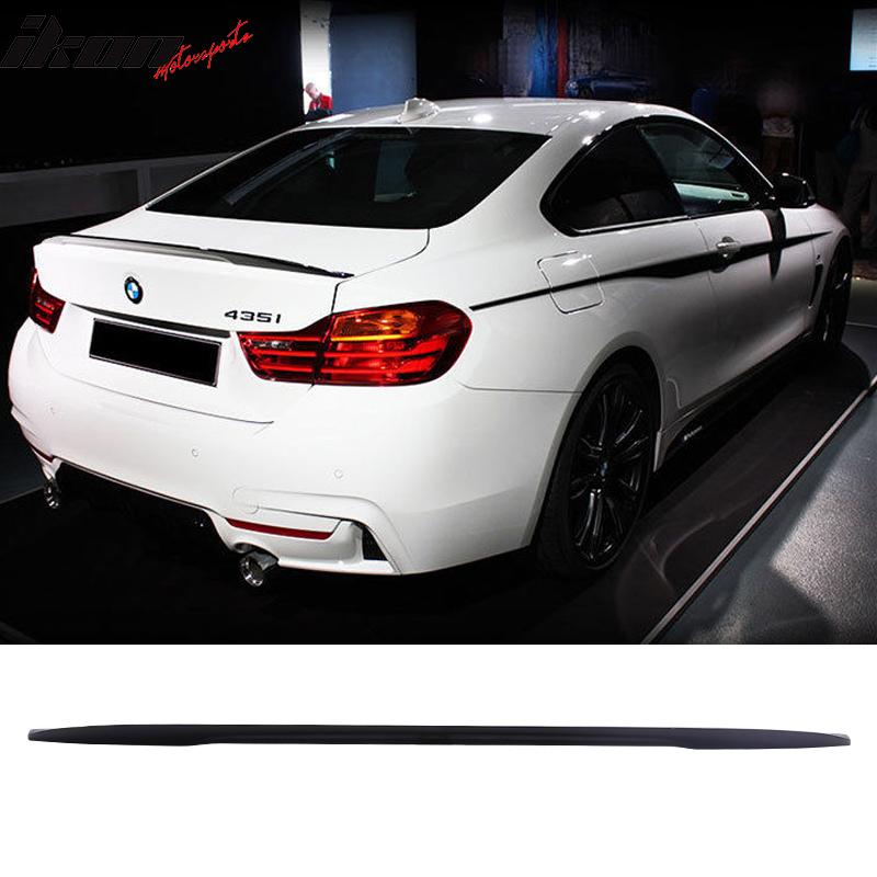 Fits 14-15 BMW 4 Series F32 Trunk Spoiler OEM Painted Alpine White Iii #300