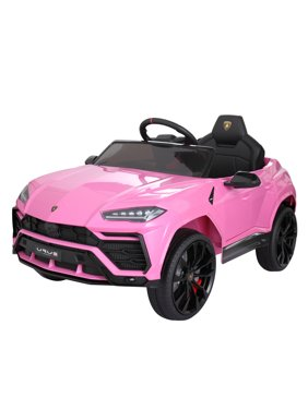 Tobbi 12V Licensed Lamborghini Urus Kids Ride on Car with Remote Control Electric Battery Powered Vehicle for Boys Girls, 3 Speed Ride on Toys with LED Lights, MP3, Music, Horn, USB