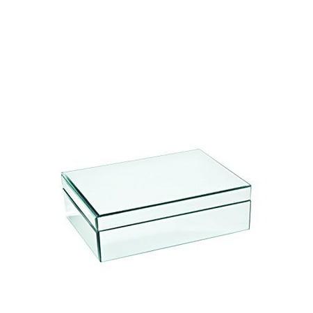 studio silversmiths mirrored jewelry box medium walmart com