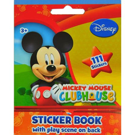 Disney Mickey Mouse Sticker Book 111 Count Best