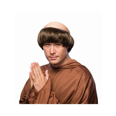 Halloween Monk Wig - Dark - Chris Brown Halloween
