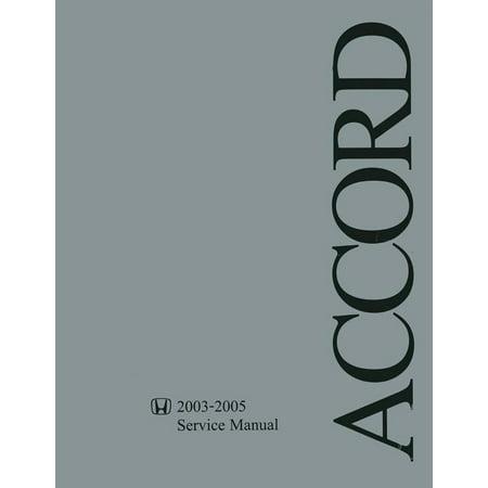 Bishko OEM Repair Maintenance Shop Manual Bound for Honda Accord 2003 -