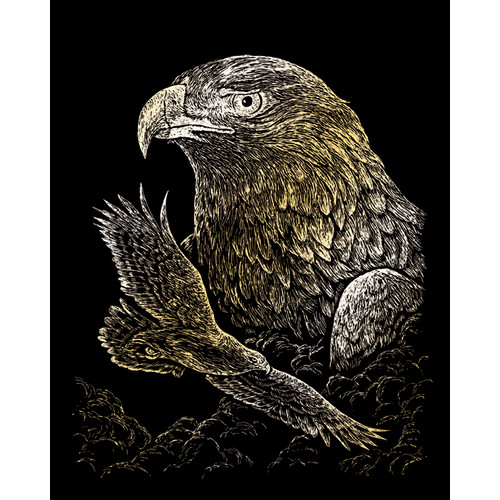 Royal & Langnickel Eagles Art Engraving (Set of 2)