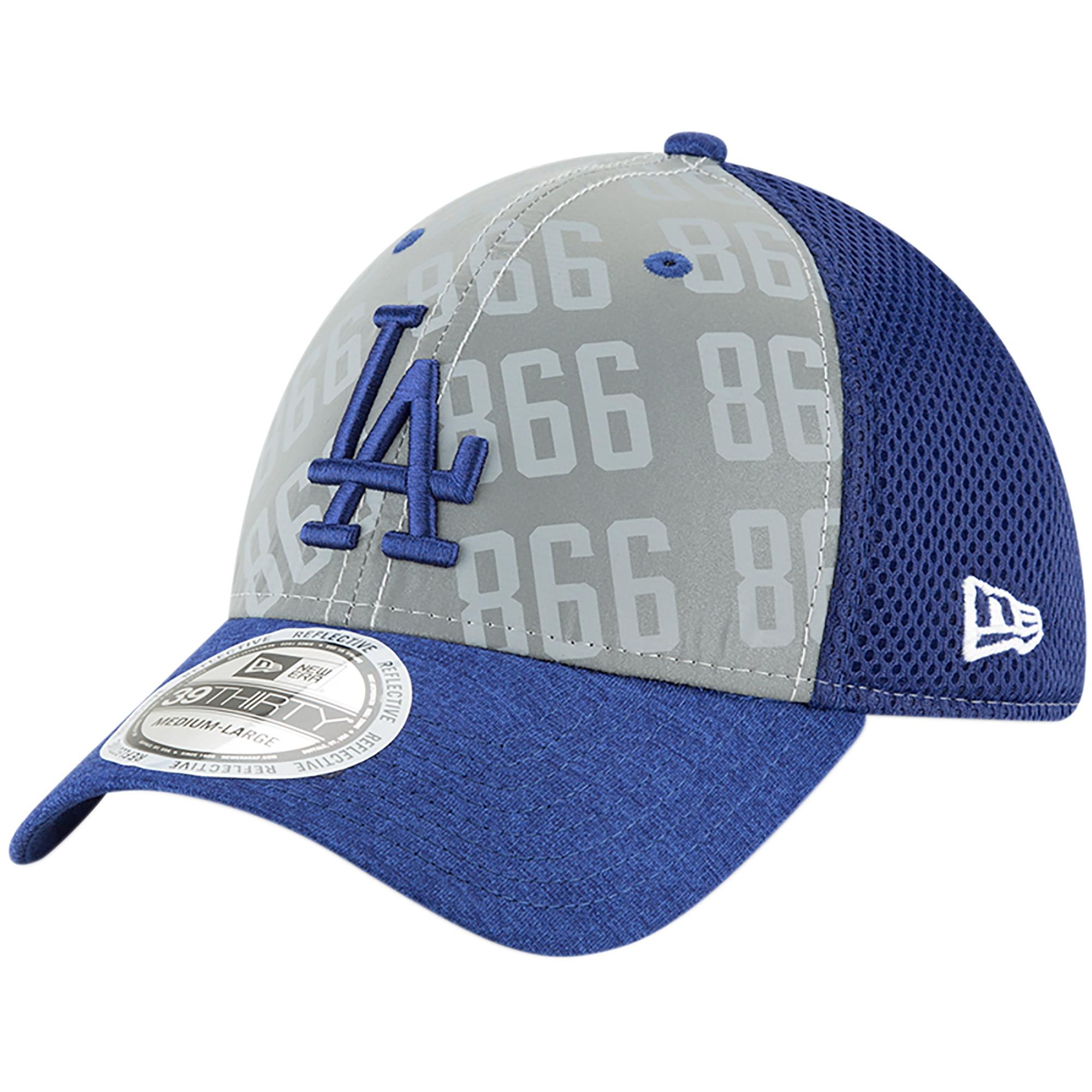 Los Angeles Dodgers New Era Code Flect 39THIRTY Flex Hat - Gray
