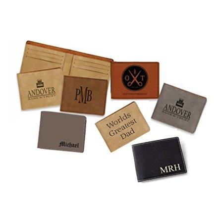 Personalized Men's Bi-fold Wallet ()