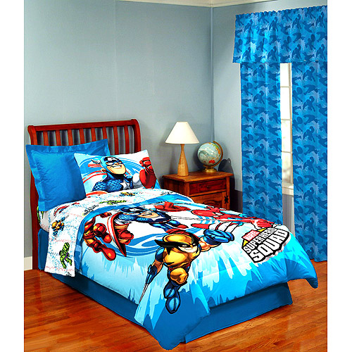 Superieur Marvel Comics Super Hero Twin Sheet Set   Walmart.com