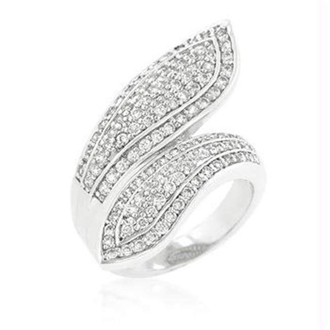 Pave Wrap Ring, <b>Size :</b> 07