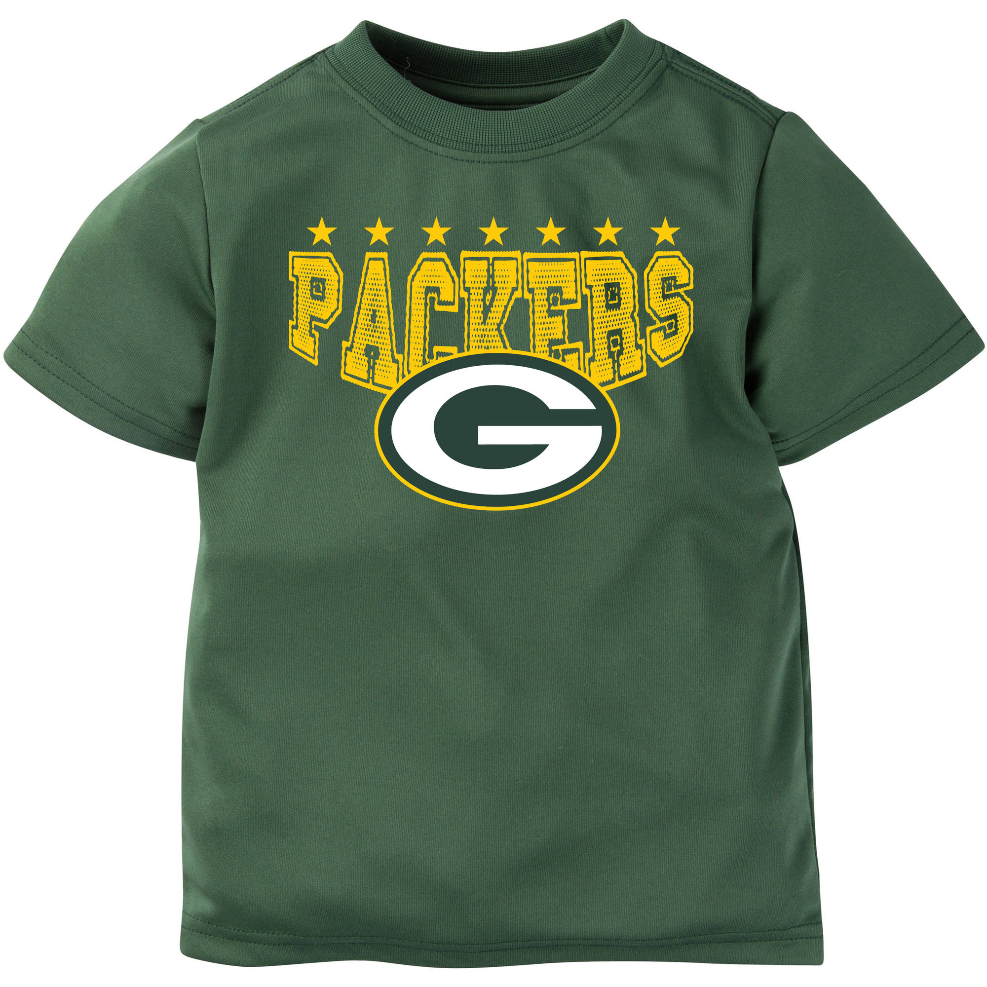 NFL Green Bay Packers Boys Short Sleeve Performance Team T Shirt
