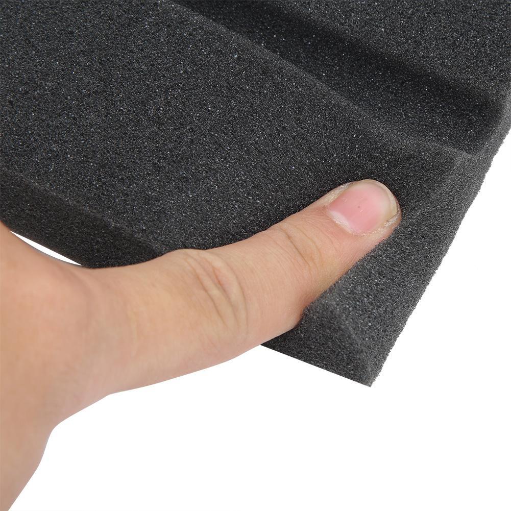 VOSAREA 10 Feuilles Plaques Anti-Friction en EVA Pr/éhenseurs de Chaise Stopper Isolation phonique Meubles Tapis de Protection pour Plancher Carr/é Noir