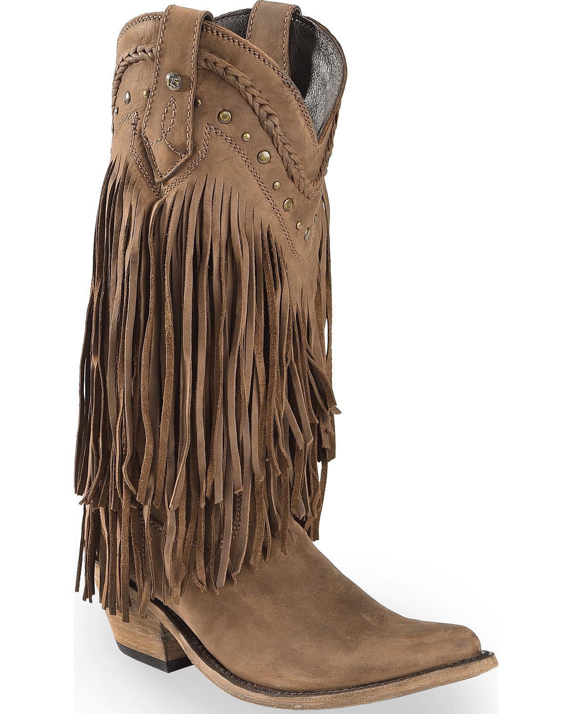 5caff4bcf44 Liberty Black - Liberty Black Women's Vegas Fringe Boot Pointed Toe ...